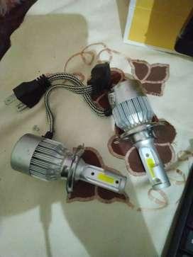 Lampu Mobil LED depan H4 C6