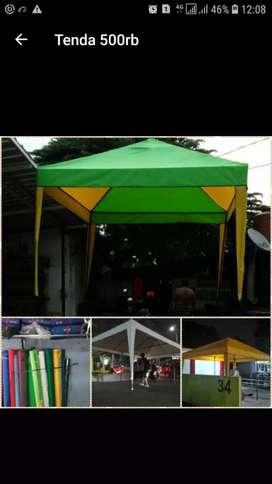 Tenda cafe  bisa dikirim bayar ditmpat ready