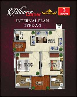 2 Bed Luxury Flat For Sale In Surjani Town