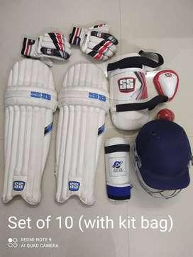 Original SS Professional cricket set | BRAND NEW | 10 piece |Untouched
