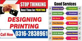 Panaflex, led Sign Board, brochure, flyer, Standees, Printing services