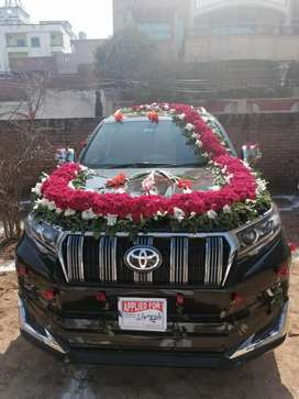BOOK YOUR DREAM PRADO FOR WEDDING FUNCTIONS on very cheap rates