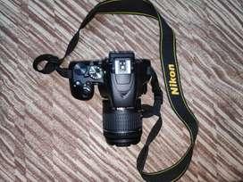 Nikon D3500 DSLR + lot of useful accessories