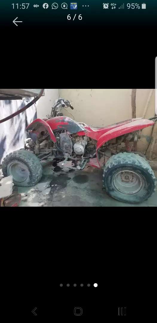 Atv/Quad bike 200 cc read ad