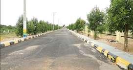 Gated Community HMDA Approved Open plots for sale at Bonglor Gate Huge