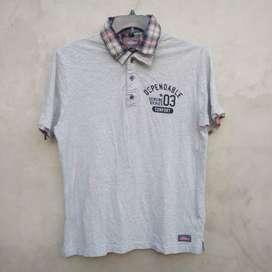 02 Kaos Polo Shirt DICKIES Second Original 101%