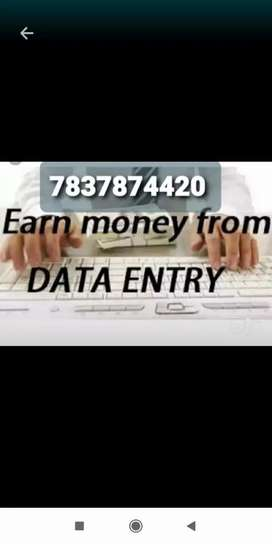 Very smooth and easy part time job data typing