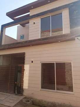 5 MARLA BRAND NEW DOUBLE STOREY HOUSE ON INSTALLMENTS