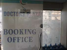 Dr office and shops at Dr plaza just opp taj medical complex
