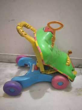 PlaySkool Walker Cum Car for Infants