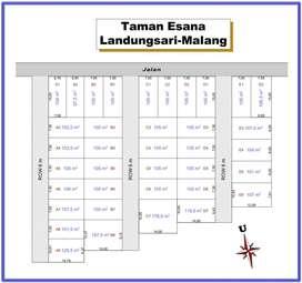 Kavling Taman Esana, Legalitas SHM P, Dekat UIN Malang