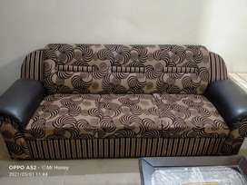 Sofa for sale carefully used neat and clean