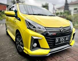 Dp 33jt Daihatsu ayla R Deluxe 2020 asli bali limited
