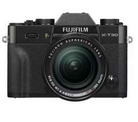 Cicilan Kamera Mirrorless Fujifilm X-T30 With 18-55mm Free Memory 32GB