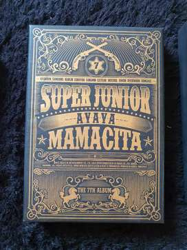 ALBUM SUPER JUNIOR MAMACITA