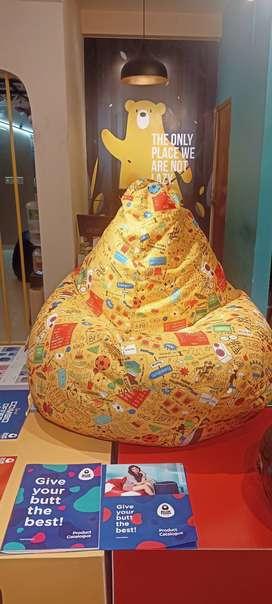 Bean Bags available in XL ,XXL XXXL, JUMBO ,KING
