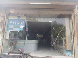 18 × 110 foot 3 floor shop 4 rent on masoom shah road