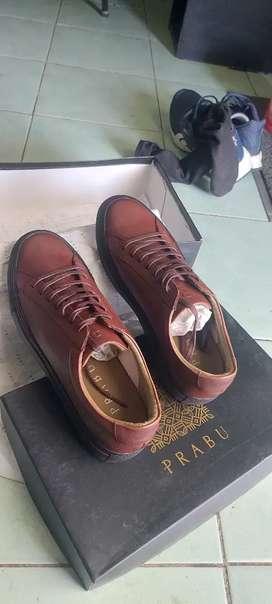 Sepatu PRABU CIPTA Brown Black