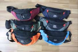WAIST BAG / TAS PINGGANG / TAS SLEMPANG ORIGINAL - COMBO ORANGE