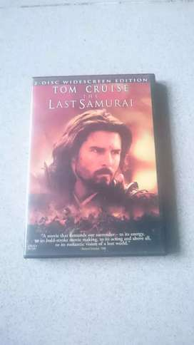 Dvd The Last Samurai.