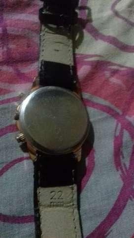 feldspar Geneva platinum watch for women