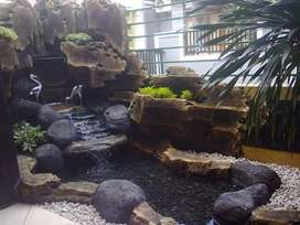 Relif kolam koi/kolam permanen