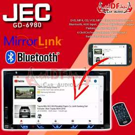 Tv layar Sentuh Mirrorlink Bluetooth JEC [ DF Car Audio]