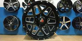 Velg trailblazer fortuner pajero everest r17x9 pcd 6x139,7 et 12