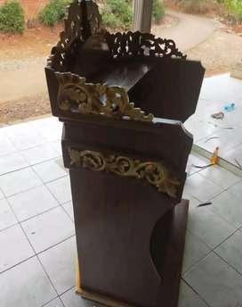 mimbar masjid musola terkini 03