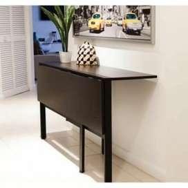 Meja lipat serbaguna meja makan