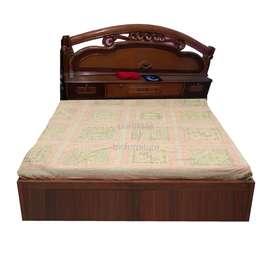 Teakwood Double Bed