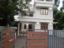 6.6 cent land with 3 bedroom new House near saint gits College
