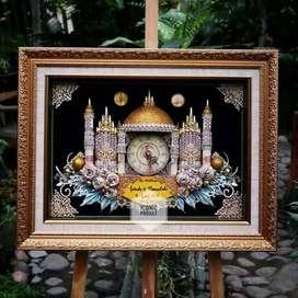 Mahar kaligrafi Bingkai Poto cermin