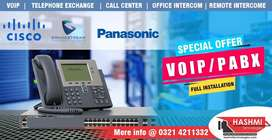 PABX / VOIP  telephone exchange setup with best price in Pakistan