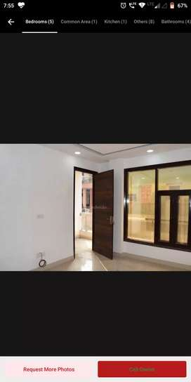 3bhk floor with lift and car parking