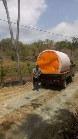 Tandon air 5000 liter HDPE - kwalitas SNI tiga lapis