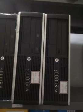 Cpu hp 6300 i3 3d gen 4gb 120gb ssd 320gb hdd dvd 3.0 port