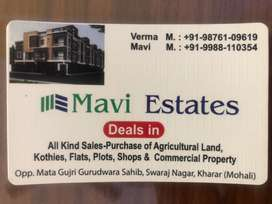 All sizes plots available in sunny enclave sector 123, 124, 125