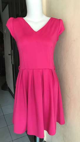 PRELOVED DRESS CASUAL PINK