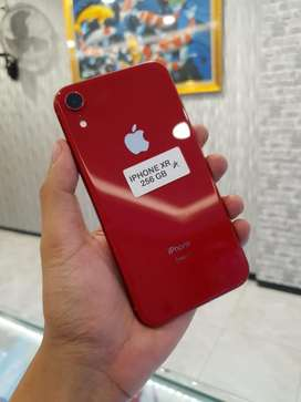 Iphone Xr 256Gb fullset lengkap original