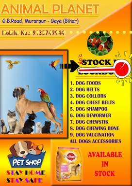 PETS FOOD AND ACCESSORIES
