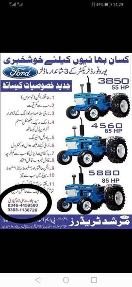 new ford tractor in old price only 6 days