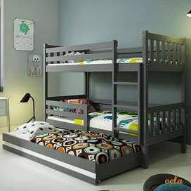 Awosome bunk bed.