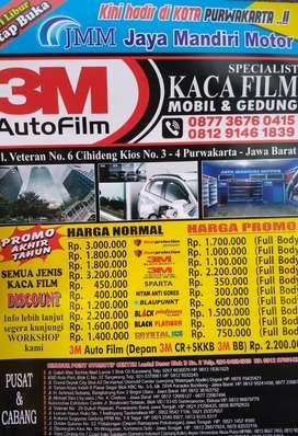 Promo Kaca film termurah