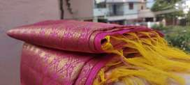 Original Kanchipuram pattu saree at just  9,900