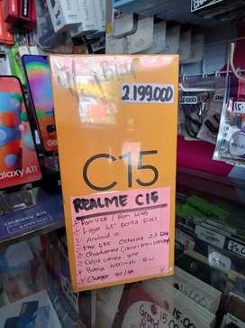 Baru Realme c15 4/64 garansi resmi