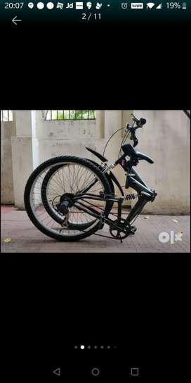 Firefox Kompac Foldable 7 speed with dual suspension