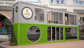 Container office /container cafe