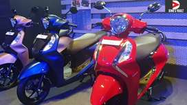 Yamaha Fascino BS6 new year offer pay RS 5555 Chennai customer only