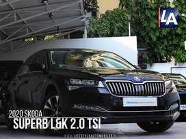 Skoda Superb LK 1.8 TSI AT, 2020, Petrol